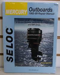 mercury outboards repair manual 1965 1989 ebay