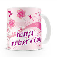 mothers day mugs happy mothers day swirls personalised picture 11oz mug