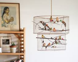 Bird Pendant Light Bird Pendant Light Etsy
