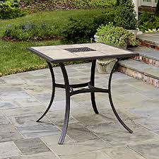 High Patio Table Jaclyn Smith Marion High Dining Table Limited Availability