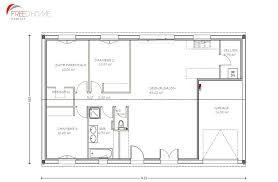 location 3 chambres plan maison plain pied 90m2 3 chambres scarr co