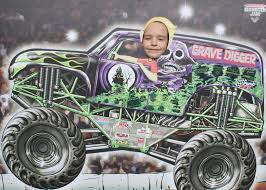 grave digger monster truck birthday party supplies it u0027s fun 4 me monster truck 5th birthday party
