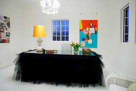 black tulle table skirt tutu table skirt ideas they re not just for little girls