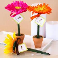 Flower Favors by Flower Pot Pen Favor