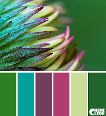 Colour Combination With Green Color Palette Green Emerald Green Pistachio Green Magenta