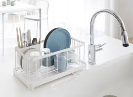 dish drainer for small side of sink top 10 well designed dish racks for small kitchens apartment therapy