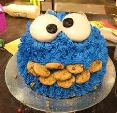 cookies and milk party featuring cookie monster birthday party