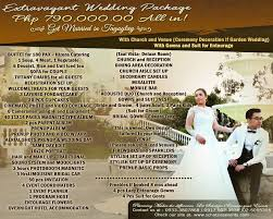 Wedding Packages Wedding Packages Wedding Package Philippines
