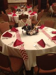 banquet decorating ideas for tables i decorated the tables for my son s high baseball banquet