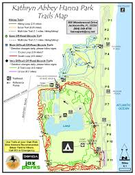 Map Of Jacksonville Florida by Kathryn Abbey Hanna Park Timucuan Parks Foundation