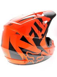 fox v1 motocross helmet riding bike part 101