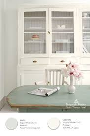Benjamin Moore White Dove Kitchen Cabinets Color Overview Advance Paint Green Table And Year 2016