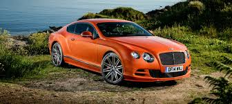 bentley orange 2015 bentley continental gt speed fastest production model yet