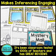 inferences reading strategies inferencing activities mystery