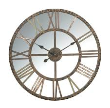 creative wall clock extremely creative mirrored wall clock clocks large pinterest