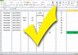 Financial Tracking Spreadsheet How To Build A Budget Spreadsheet Teenagers 13 Steps