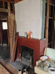 resurfacing the fireplace victorian renovation