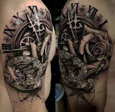 clock sundial compass mens shoulder best