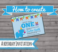 birthday card how to create your own birthday card free create