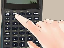 how to set decimal places on a ti ba ii plus calculator 5 steps