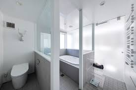 Japanese Style Bathroom by Shinnohon House K A Contemporary Family Home From Japan U0027s Suburbs