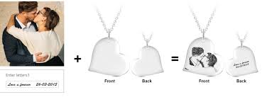 engraved necklaces personalized name necklace on sale customized photo engraved pendant