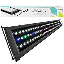 aqueon led aquarium light fixture 36 inch buy 36 43 inch 129 led aquarium lighting fish tank light fixture by