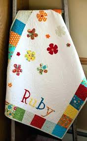 customized baby personalized baby blankets customized baby quilts patchwork