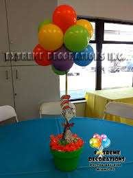 dr seuss centerpieces party decorations miami balloon sculptures