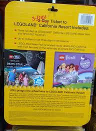 Discounted Six Flags Tickets Legoland California Resort 3 Day Hopper Ticket Costco Weekender