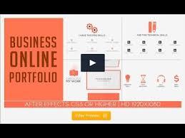 business online portfolio