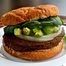 b is for black bean u0026 veggie burger