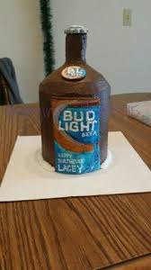 is bud light made with rice budlight beer bottle cake with rice krispie for the bottle neck