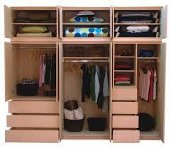 2017 triple portable clothes wardrobe closet cabinet garment