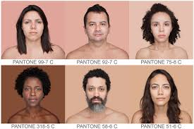 51 best color names pantone standardizing skin tone angelica dass mapping the world u0027s human