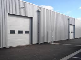 Porte Entree Grande Largeur Porte Sectionnelle Pour Hangar