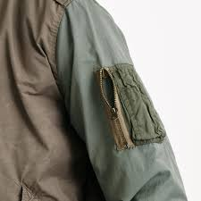 Wallace And Barnes Bomber J Crew Wallace U0026 Barnes Pieced A 2 Bomber Jacket In Green For Men