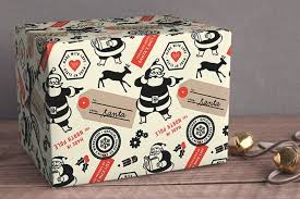 personalized wrapping paper santa s workshop official personalized wrapping paper a winner