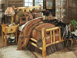 King Size Bedroom Set With Armoire Rustic Bedroom Furniture Log Beds And Hickory Beds Black Forest