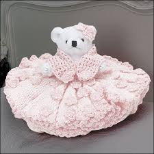 Crochet Home Decor Patterns Free Crochet For The Home General Decor Teddy Bear Bed Dolls