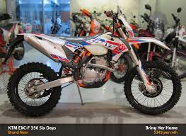 ktm motocross bikes for sale ktm exc f 350 six days 2015 new ktm exc f 350 six days price