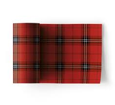 christmas tartan christmas cotton napkins 50u mydrap