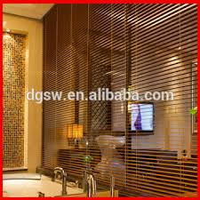 Vertical Blinds Room Divider 2 U0027 U0027 Beautiful Luxury Pvc Faux Wood Venetian Blinds Blackout Panel