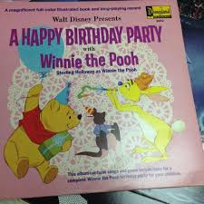 winnie the pooh photo album best 1967 walt disney happy birthday party with winnie the pooh