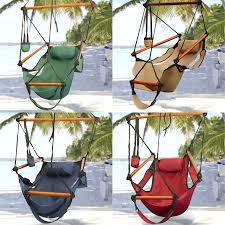 Two Person Swing Chair Deluxe Wood Arc Two Person Wood Hammock Stand Set Ebay