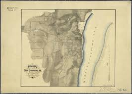 Maps Location History File Military Map Of Cape Girardeau Mo And Vicinity Showing
