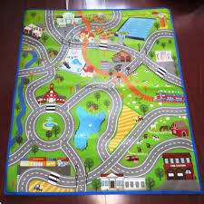 Cars Area Rug Coffee Tables Nursery Rugs Neutral Kids Play Rugs With Roads