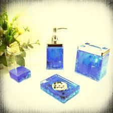 calm waters light aqua mosaic bath accessories aqua and gold