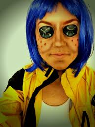 Coraline Halloween Costume 16 August Belen Makeup Images Halloween Makeup