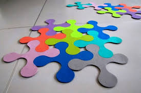 tappeti puzzle i tappeti puzzle di agnieszka czop e joanna rusin bigodino